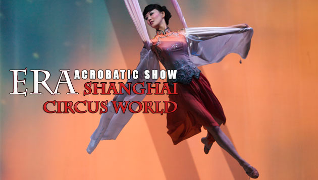 Acrobatic Show Shanghai Circus World