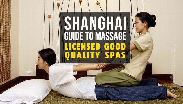 Shanghai Massage Guide