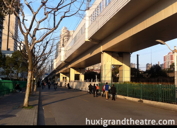 Huxi Grand Theatre Location, Wuning Road